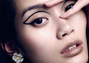 макияж стрелки